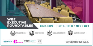 WBE Executive Roundtables